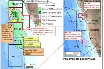 The allocation of offshore exploration concessions in Namibia